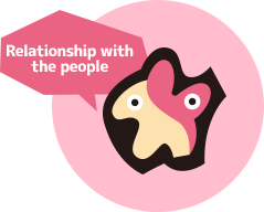 Relationship with the people
