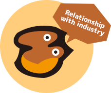 Relationship with industry